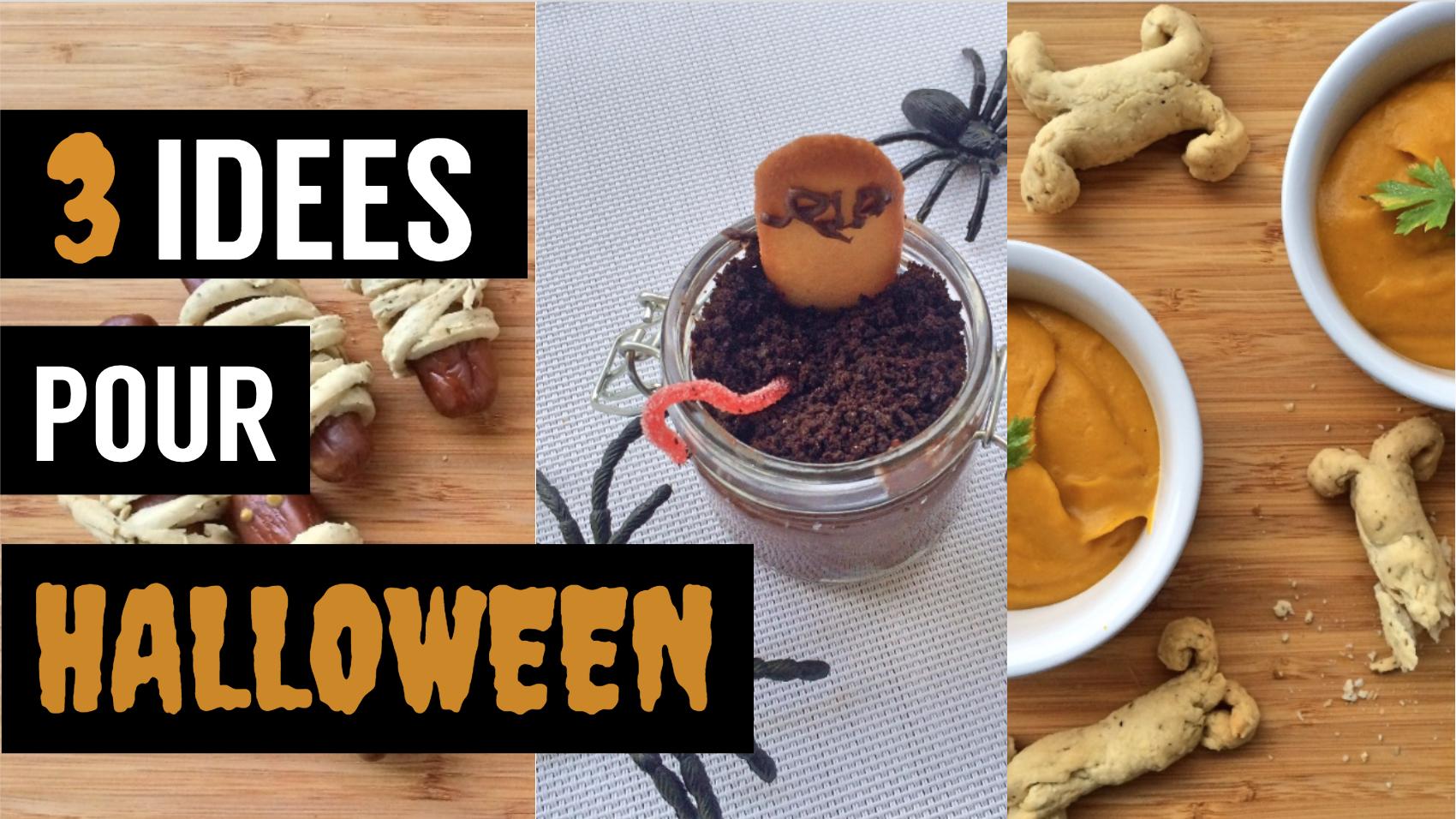 halloween - recettes végétariennes et vegan - atirelarigot