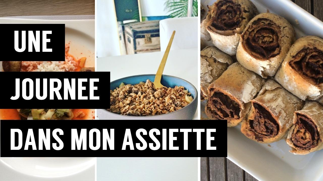 une journée dans mon assiette - - recettes végétariennes et vegan - atirelarigot